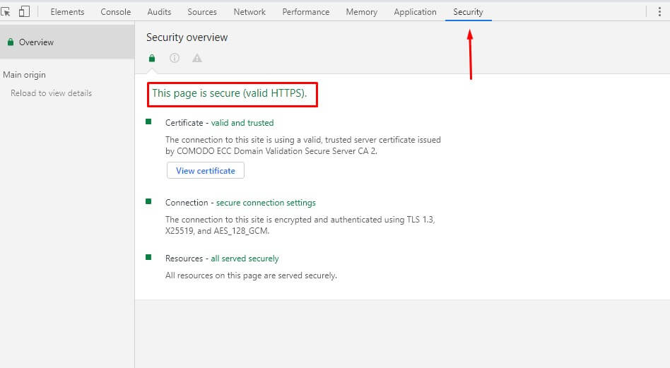 Check website security- How to Check Website Quality