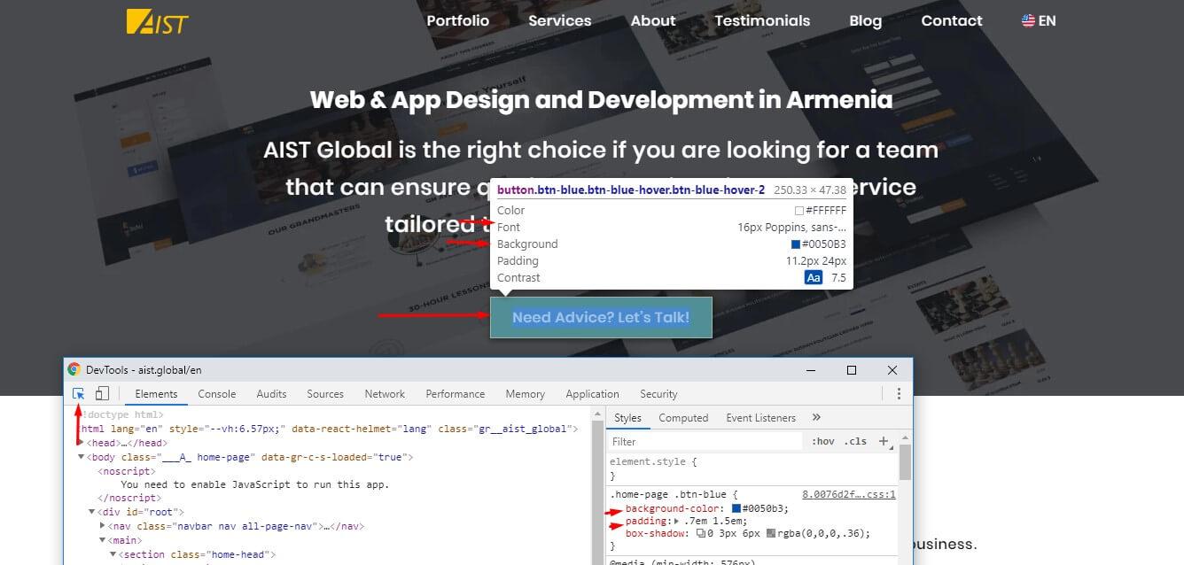 Check website design info - How to check Website Quality