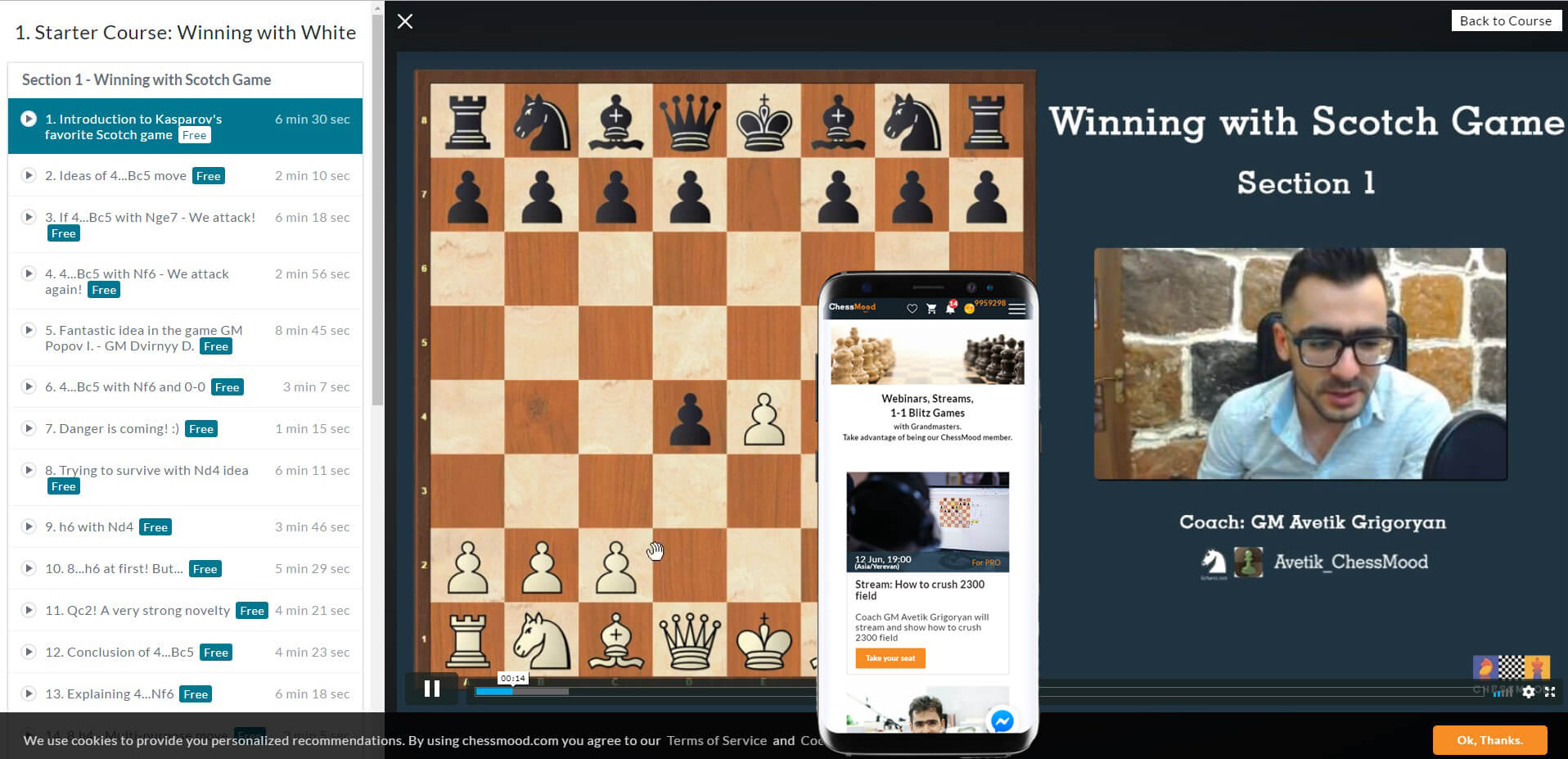Chess Mood -LMS Software
