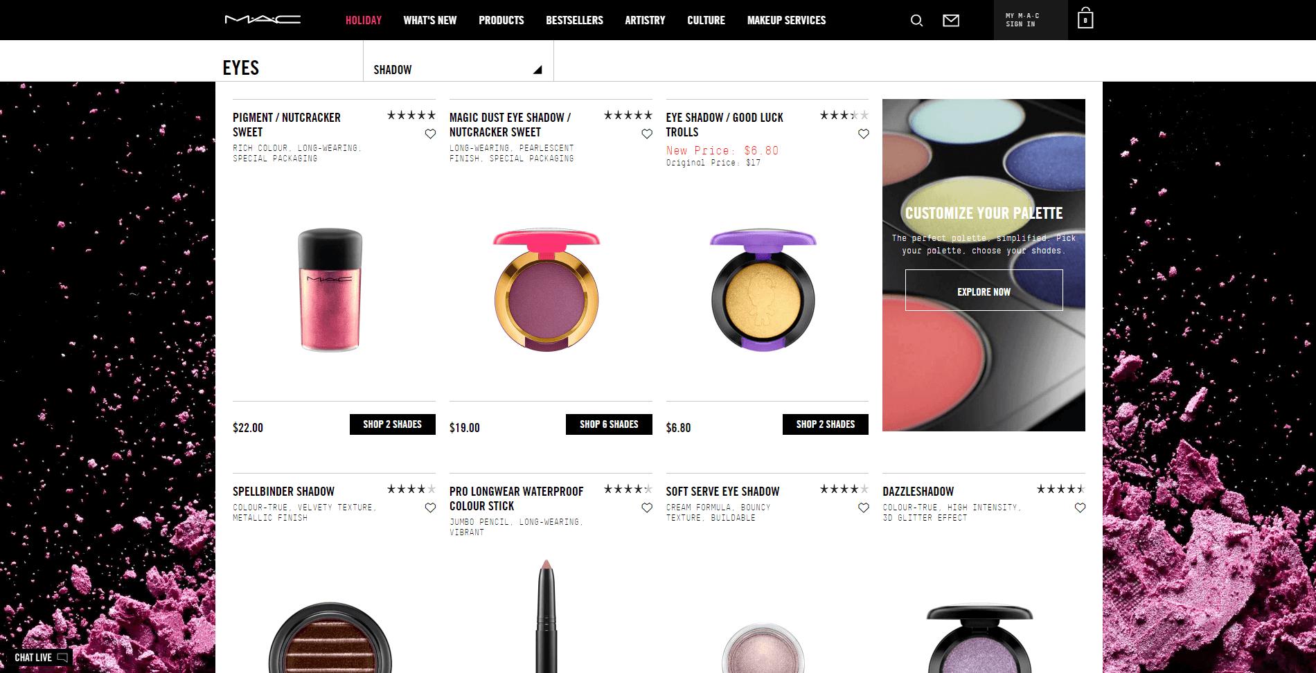 Skin care websites