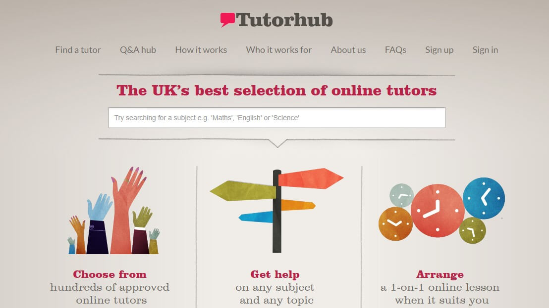 Online Teaching Sites That Will Inspire You:#4 Tutor Hub